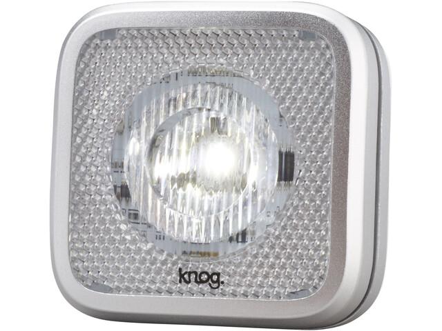80df476c9 Knog Blinder MOB - Luces para bicicleta - 1 LED blanco, estándar  gris/Plateado